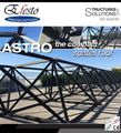 Astro Roof - Ground Support with spatial frame roof